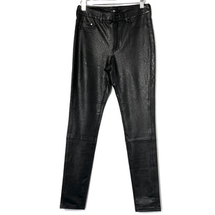 Primary Photo - BRAND: 7 FOR ALL MANKIND STYLE: PANTS COLOR: BLACK SIZE: S SKU: 262-26275-74022FAUX LEATHER LOOK