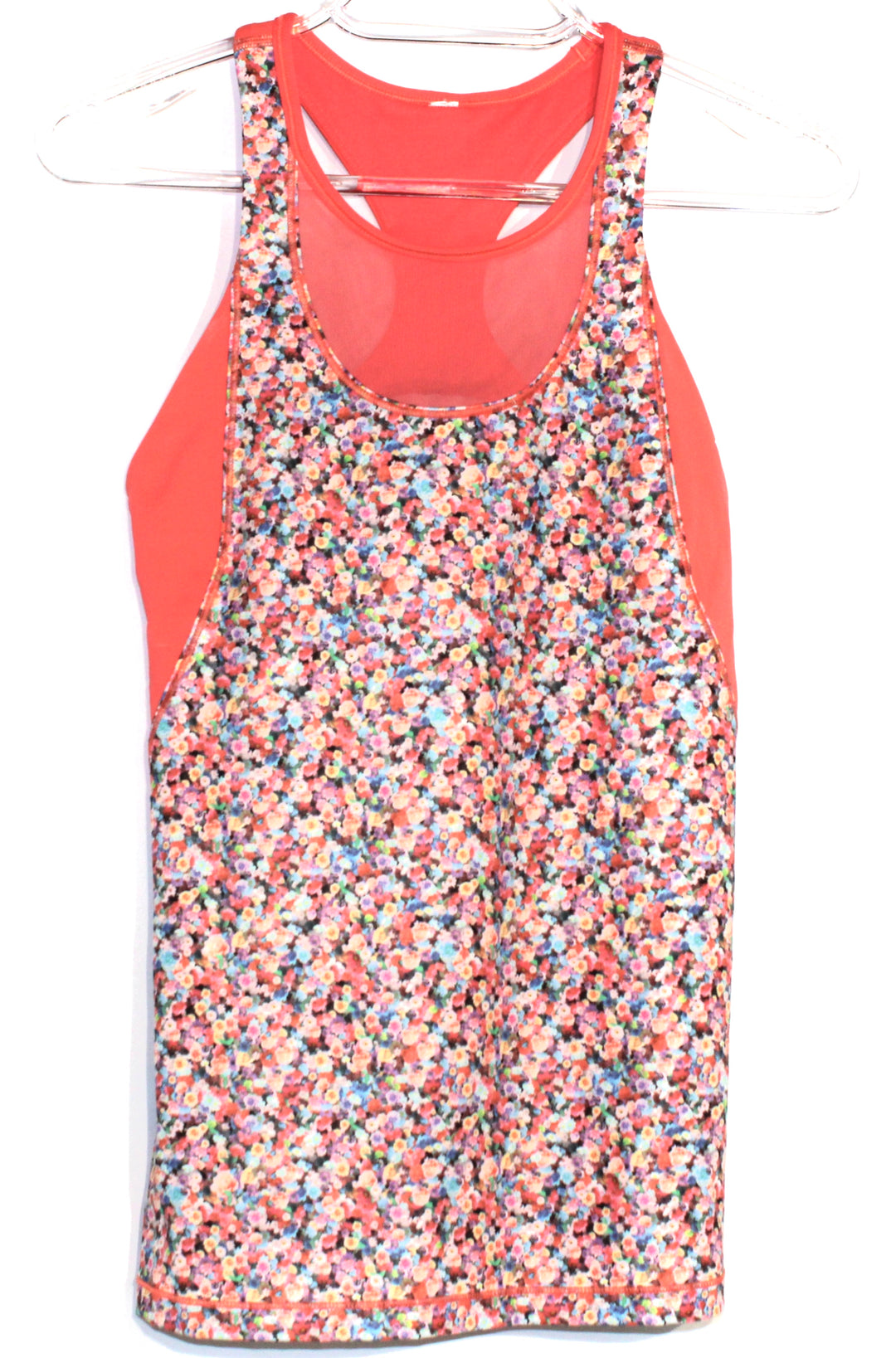 Primary Photo - BRAND: LULULEMON <BR>STYLE: ATHLETIC TANK TOP <BR>COLOR: FLORAL <BR>SIZE: 4 <BR>SKU: 262-26275-62337<BR><BR>DESIGNER FINAL