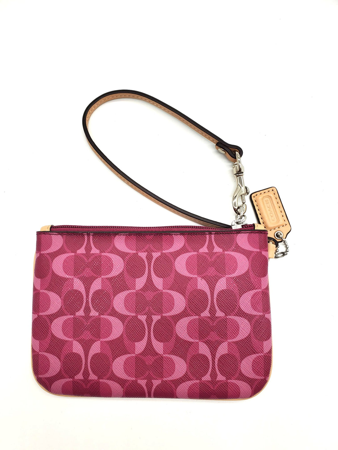 Wristlet By Coach - BRAND: COACH <BR>STYLE: WRISTLET <BR>COLOR: MONOGRAM <BR>SKU: 262-26275-62645<BR>AS IS<BR>DESIGNER ITEM FINAL SALE