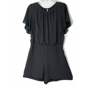 Primary Photo - BRAND: WHITE HOUSE BLACK MARKET STYLE: ROMPER DRESS SHORT SHORT SLEEVE COLOR: BLACK SIZE: XL /14SKU: 262-26241-47656