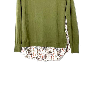 Primary Photo - BRAND: ANN TAYLOR LOFT STYLE: TOP LONG SLEEVE COLOR: OLIVE SIZE: XS SKU: 262-26241-44587