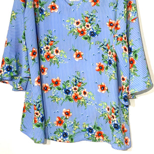 Primary Photo - BRAND:    STATUS BY CHENAULT STYLE: TOP LONG SLEEVE COLOR: FLORAL SIZE: 2X OTHER INFO: STATUS  - SKU: 262-26275-54956