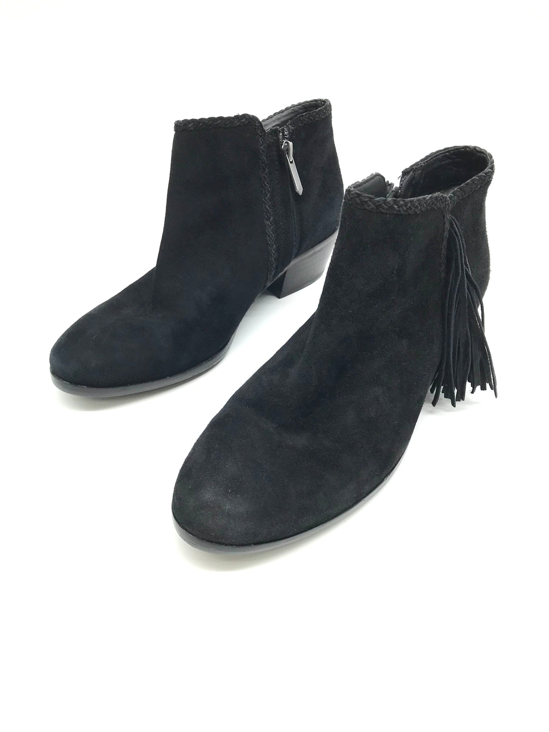 Photo #1 - BRAND: SAM EDELMAN <BR>STYLE: BOOTS ANKLE <BR>COLOR: BLACK <BR>SIZE: 6 <BR>SKU: 262-26275-71578<BR>AS IS <BR>