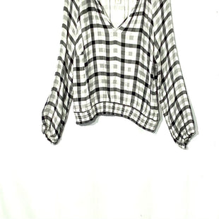 Primary Photo - BRAND: CLOTH AND STONE STYLE: TOP LONG SLEEVE COLOR: PLAID SIZE: L SKU: 262-26275-69551
