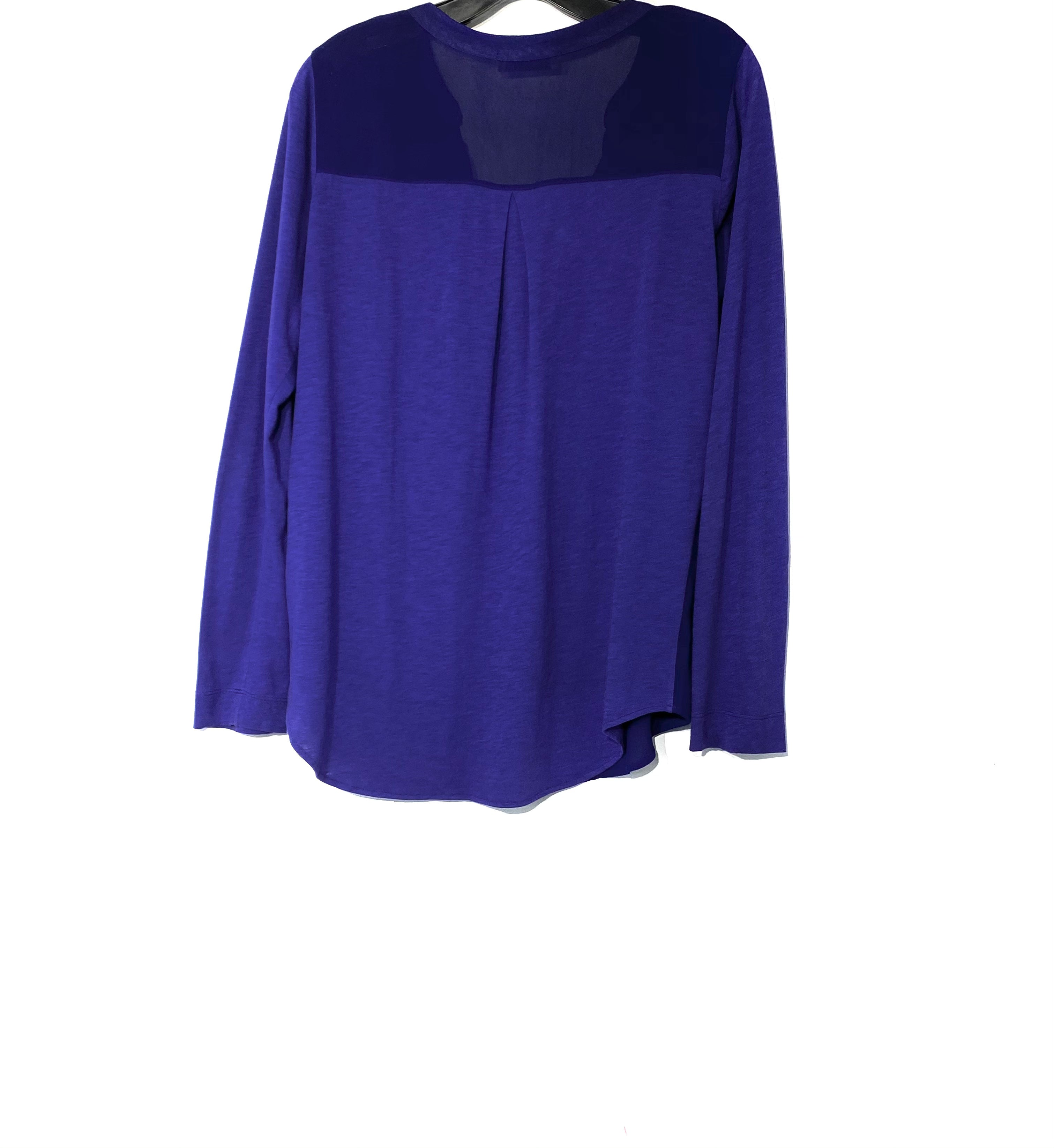 Photo #1 - BRAND: LANGUAGE <BR>STYLE: TOP LONG SLEEVE <BR>COLOR: DARK ROYAL BLUE <BR>SIZE: L <BR>SKU: 262-26275-69866
