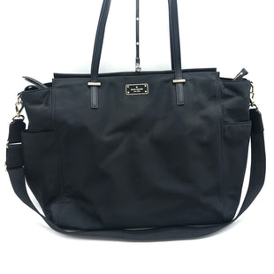 "Primary Photo - BRAND: KATE SPADE STYLE: HANDBAG DESIGNER COLOR: BLACK SIZE: MEDIUM SKU: 262-26275-74510APPROX. 19.5""L X 13.5""H X 6""D"
