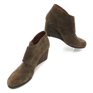 Primary Photo - BRAND: LUCKY BRAND STYLE: BOOTS ANKLE COLOR: BROWN SIZE: 8.5 SKU: 262-26241-45390