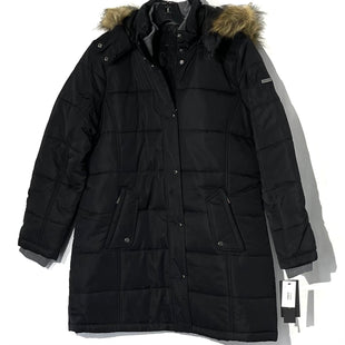 Primary Photo - BRAND: WEATHERPROOF STYLE: COAT COLOR: BLACK SIZE: XL SKU: 262-26211-142032FAUX FUR