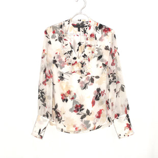 Primary Photo - BRAND: WHITE HOUSE BLACK MARKET STYLE: BLOUSE COLOR: FLORAL SIZE: S/4SKU: 262-26275-58434