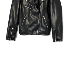 Primary Photo - BRAND:    PIPER&JANESTYLE: JACKET OUTDOOR COLOR: BLACK SIZE: M OTHER INFO: PIPER JANE - SKU: 262-26275-69842FAUX LEATHER