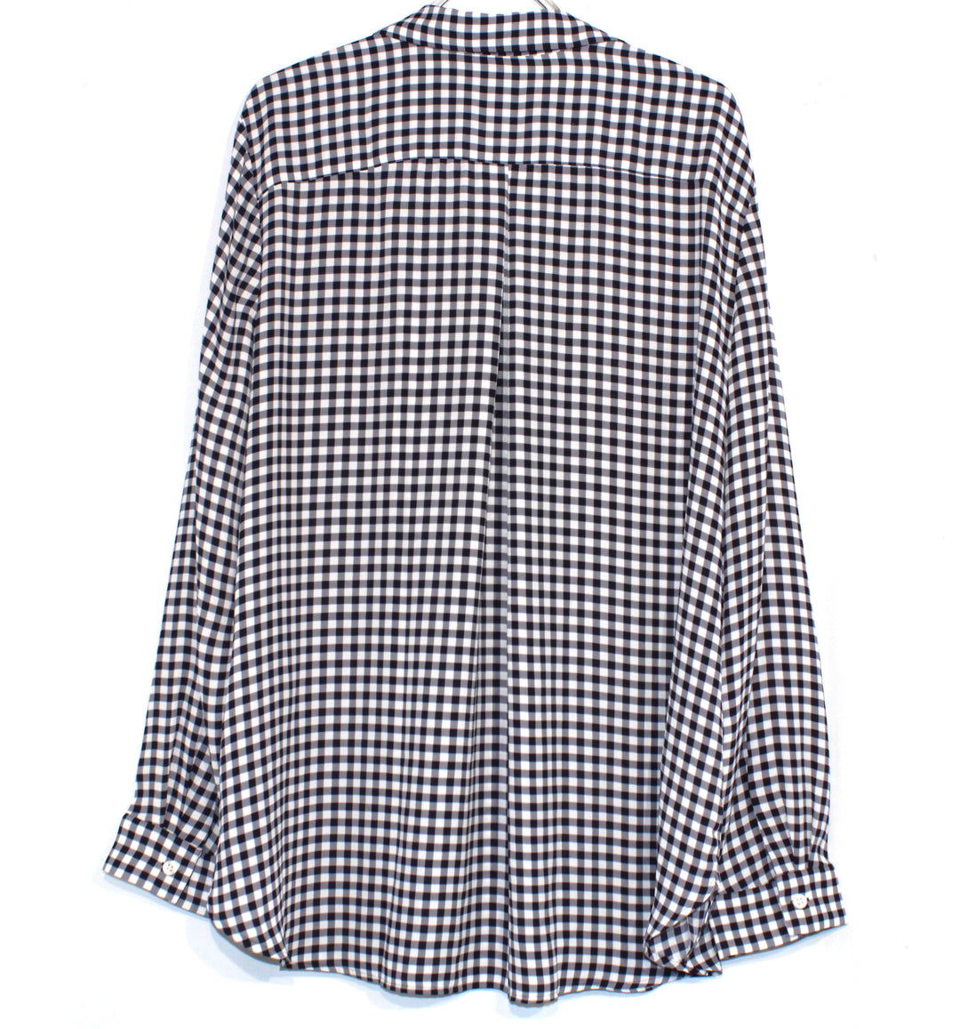 Photo #1 - BRAND: ANN TAYLOR <BR>STYLE: BLOUSE <BR>COLOR: CHECKED <BR>SIZE: XXL <BR>SKU: 262-26211-140110