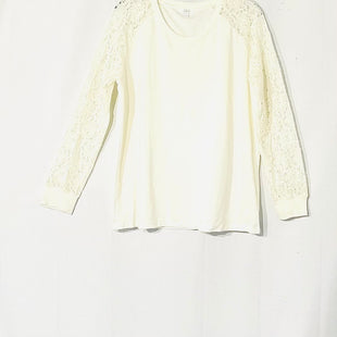 Primary Photo - BRAND:    MAETTESTYLE: TOP LONG SLEEVE COLOR: OFF WHITESIZE: XL OTHER INFO: MAETTE - SKU: 262-26275-73225