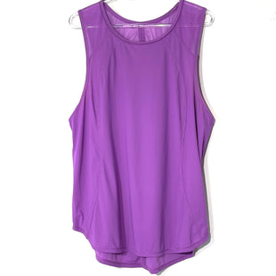 Primary Photo - BRAND: LULULEMON STYLE: ATHLETIC TANK TOP COLOR: DARK LILAC SIZE: L SKU: 262-26275-72774SIZE TAG MISSING AS IS