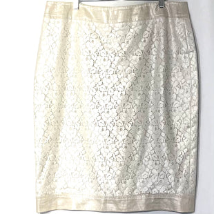Primary Photo - BRAND: ESCADA STYLE: SKIRT COLOR: BEIGE SIZE: L /44/12SKU: 262-26241-46182DESIGNER FINAL