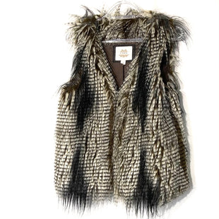 Primary Photo - BRAND: ESLEY STYLE: VEST COLOR: ANIMAL PRINT SIZE: S SKU: 262-26241-44719