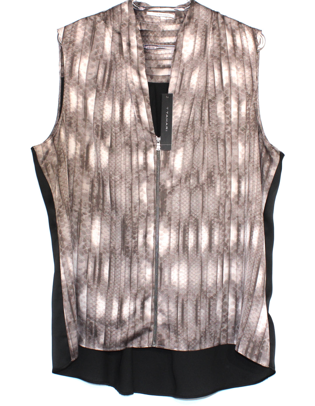 Primary Photo - BRAND: T TAHARI <BR>STYLE: TOP SLEEVELESS <BR>COLOR: ANIMAL PRINT <BR>SIZE: XL <BR>SKU: 262-26211-136532