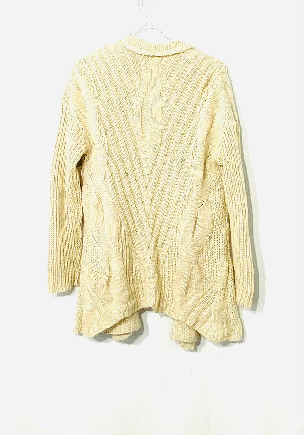 Photo #1 - BRAND: EILEEN FISHER THE FISHER PROJECT <BR>STYLE: SWEATER LIGHTWEIGHT <BR>COLOR: BEIGE <BR>SIZE: M <BR>SKU: 262-26275-71452<BR>35% LINEN<BR>18% MOHAIR<BR>DESIGNER FINAL