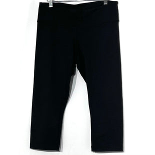 Primary Photo - BRAND: LULULEMON STYLE: ATHLETIC CAPRIS COLOR: BLACK SIZE: 10 OTHER INFO: AS IS SLIGHT PILLING THIGH AREASKU: 262-26241-44997
