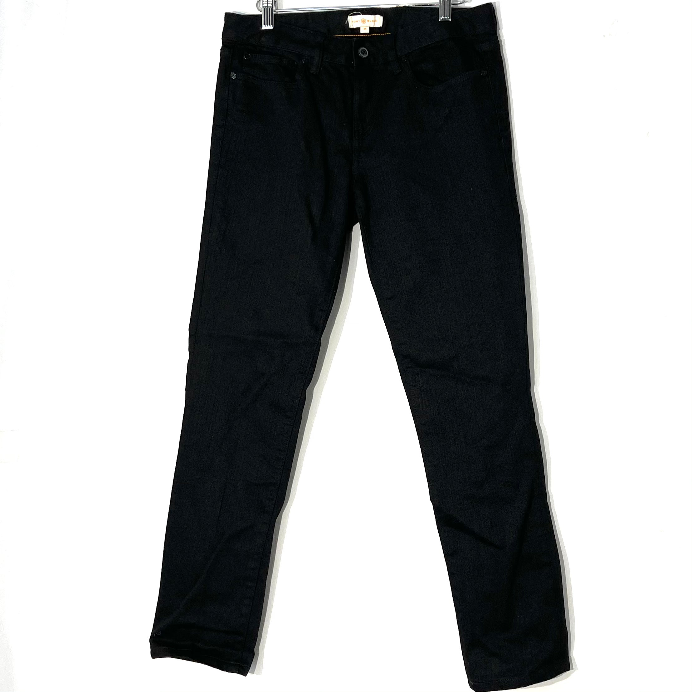 Primary Photo - BRAND: TORY BURCH <BR>STYLE: JEANS <BR>COLOR: BLACK DENIM <BR>SIZE: 8 /29<BR>SKU: 262-26241-46907
