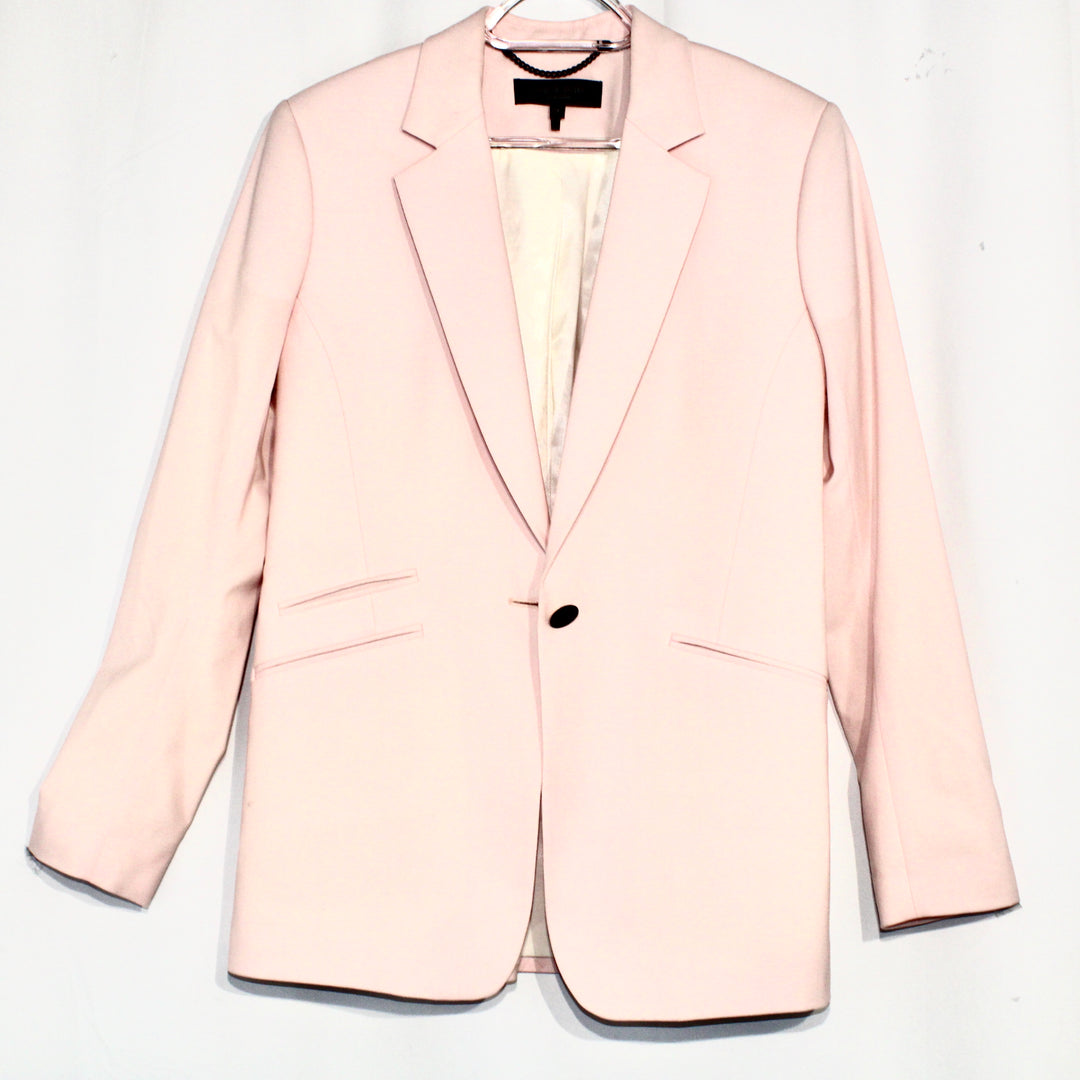 Primary Photo - BRAND: RAG AND BONE <BR>STYLE: BLAZER JACKET <BR>COLOR: LIGHT PINK <BR>SIZE: S/4<BR>SKU: 262-262100-60<BR><BR>DESIGNER FINAL