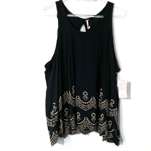 Primary Photo - BRAND: FREE PEOPLE STYLE: TOP SLEEVELESS COLOR: BLACK SIZE: L SKU: 262-26275-74598