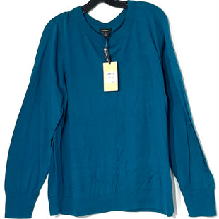 Primary Photo - BRAND: HALOGEN STYLE: SWEATER LIGHTWEIGHT COLOR: TEAL SIZE: 3X SKU: 262-26275-77486