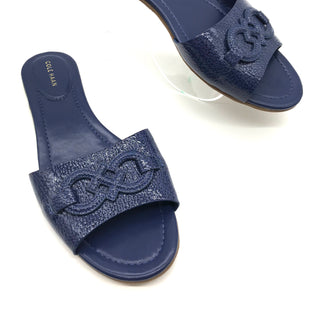 Primary Photo - BRAND: COLE-HAAN STYLE: SANDALS FLAT COLOR: BLUE SIZE: 10 SKU: 262-26241-43390NEW CONDITION