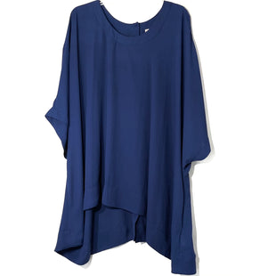 Primary Photo - BRAND: MELISSA MCCARTHY STYLE: BLOUSE COLOR: NAVY SIZE: 3X SKU: 262-26211-143528