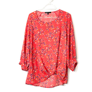 Primary Photo - BRAND: GIBSON STYLE: TOP LONG SLEEVE COLOR: FLORAL SIZE: S SKU: 262-26275-74088