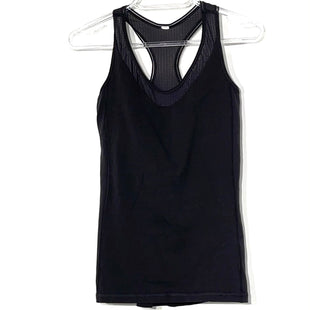 Primary Photo - BRAND: LULULEMON STYLE: ATHLETIC TANK TOP COLOR: BLACK SIZE: 4OTHER INFO: SKU: 262-26241-45279DESIGNER FINAL