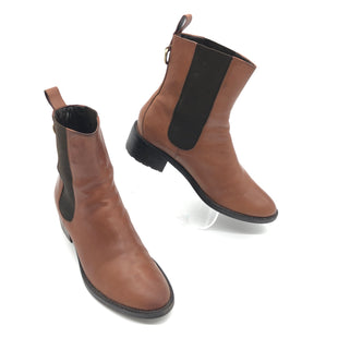 Primary Photo - BRAND: COLE-HAAN STYLE: BOOTS ANKLE COLOR: BROWN SIZE: 7 SKU: 262-26275-78835IN GOOD SHAPE AND CONDITION