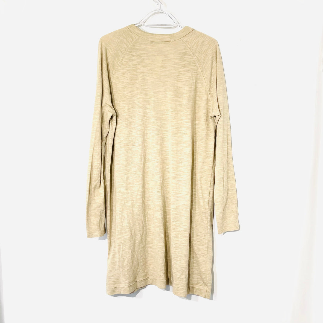 Photo #1 - BRAND: FREE PEOPLE <BR>STYLE: DRESS TUNIC COVER<BR>COLOR: BEIGE <BR>SIZE: L <BR>SKU: 262-26275-73810