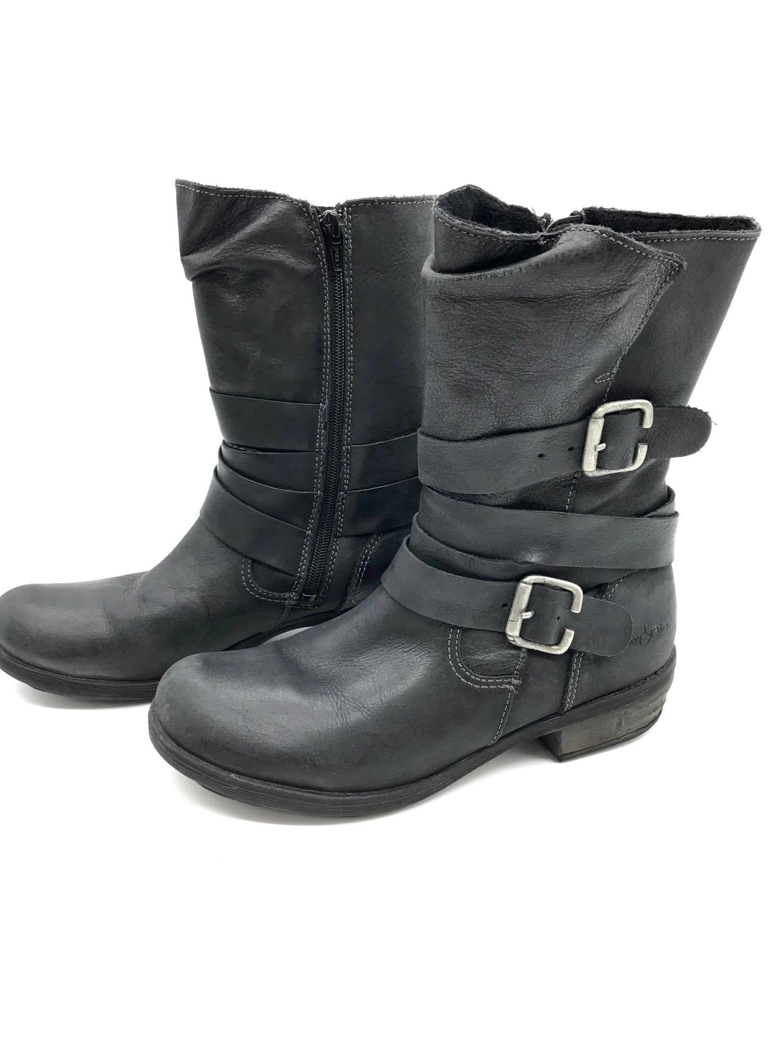 Photo #2 - BRAND: BOC <BR>STYLE: BOOTS ANKLE <BR>COLOR: BLACK <BR>SIZE: 7 <BR>SKU: 262-26275-69243<BR>AS IS