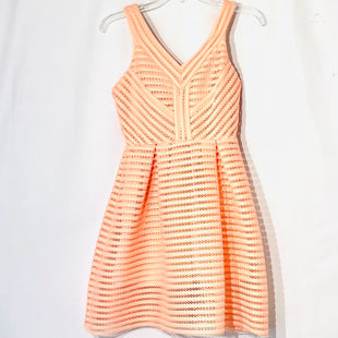 Primary Photo - BRAND:    F R FREE & ROSESTYLE: DRESS SHORT SLEEVELESS COLOR: PEACHSIZE: S OTHER INFO: FREE AND ROSE - SKU: 262-26241-46178