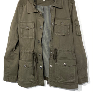 Primary Photo - BRAND: PEYTON JENSEN STYLE: JACKET OUTDOOR COLOR: OLIVE SIZE: M SKU: 262-26275-6736398% COTTON2% SPANDEX