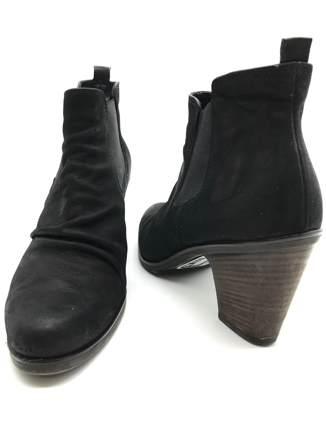 Photo #1 - BRAND: PAUL GREEN<BR>STYLE: BOOTS ANKLE <BR>COLOR: BLACK <BR>SIZE: 8 <BR>SKU: 262-262101-969<BR>AS IS