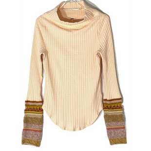 Primary Photo - BRAND: FREE PEOPLE STYLE: SWEATER LIGHTWEIGHT COLOR: PEACH SIZE: L SKU: 262-26211-144307