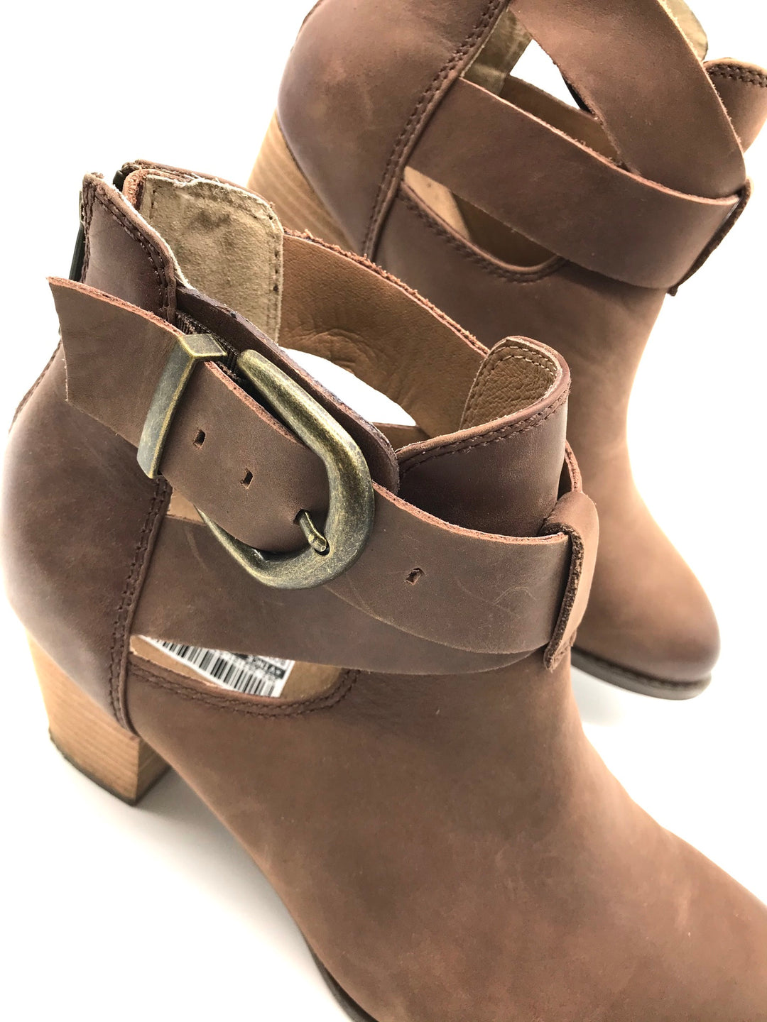 Photo #3 - BRAND: VINCE <BR>STYLE: BOOTS ANKLE <BR>COLOR: TAN <BR>SIZE: 9 <BR>SKU: 262-262101-537<BR>AS IS