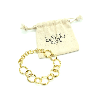 Primary Photo - BRAND:   BAYOU WITH LOVESTYLE: BRACELET COLOR: GOLD SKU: 262-26275-74353AS IS