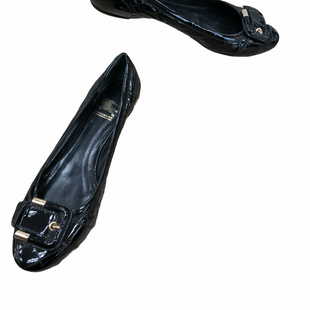 Primary Photo - BRAND: BURBERRY STYLE: SHOES FLATS COLOR: BLACK SIZE: 39.5 (US: APPROX. 9.5)SKU: 262-26241-48356SOME SLIGHT WEAR -  MARKS INSIDE, TO BACK OF HEEL, PRICED AS-IS
