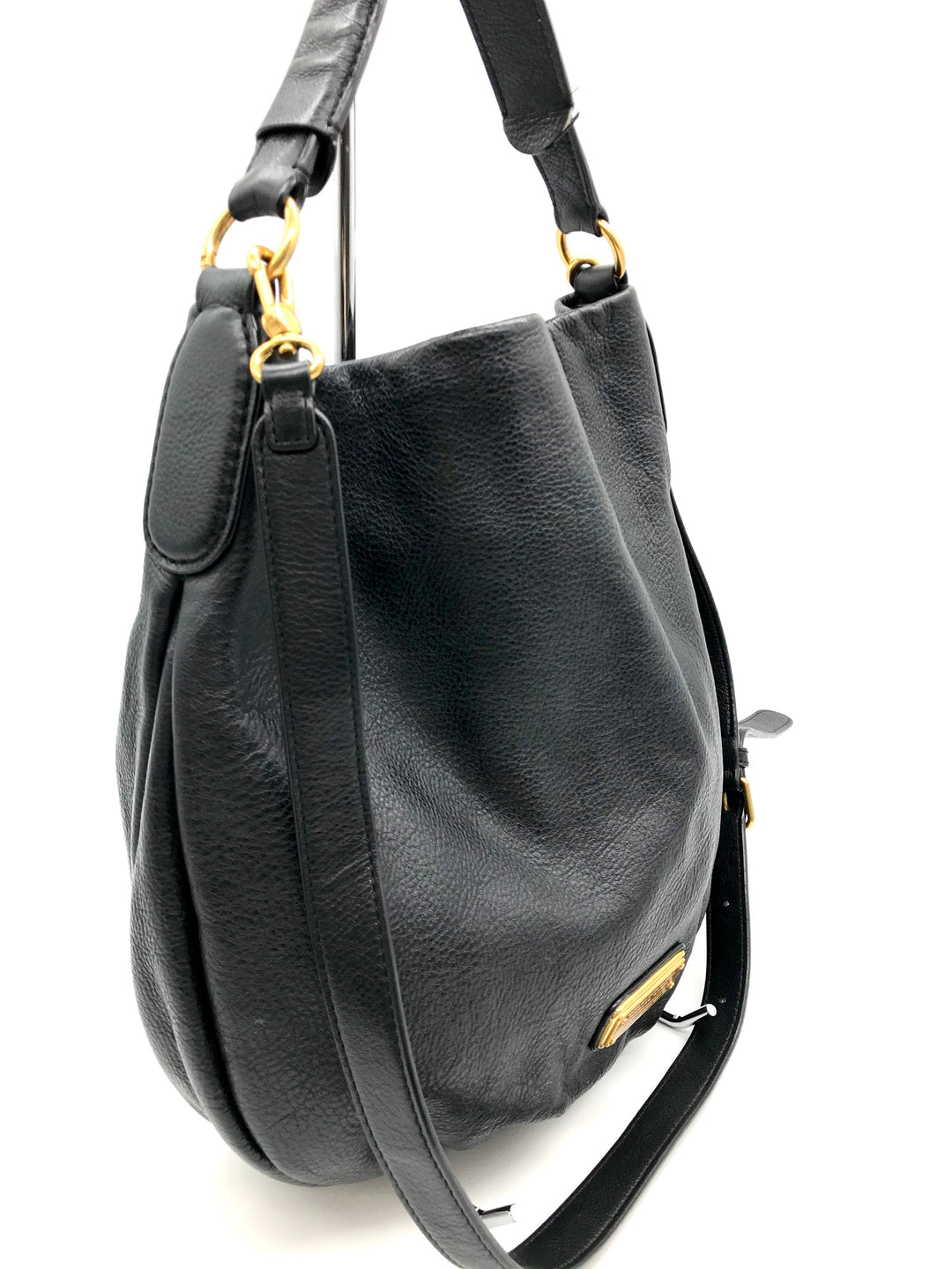 Photo #1 - BRAND: MARC BY MARC JACOBS <BR>STYLE: HANDBAG DESIGNER <BR>COLOR: LEATHER <BR>SIZE: LARGE <BR>SKU: 262-26241-32891<BR>SOME MARKS INSIDE - AS IS<BR>DESIGNER BRAND - FINAL SALE