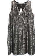 Primary Photo - BRAND: LANE BRYANT <BR>STYLE: DRESS SHORT SLEEVELESS <BR>COLOR: METALLIC <BR>SIZE: 2X/20<BR>SKU: 262-26211-128259