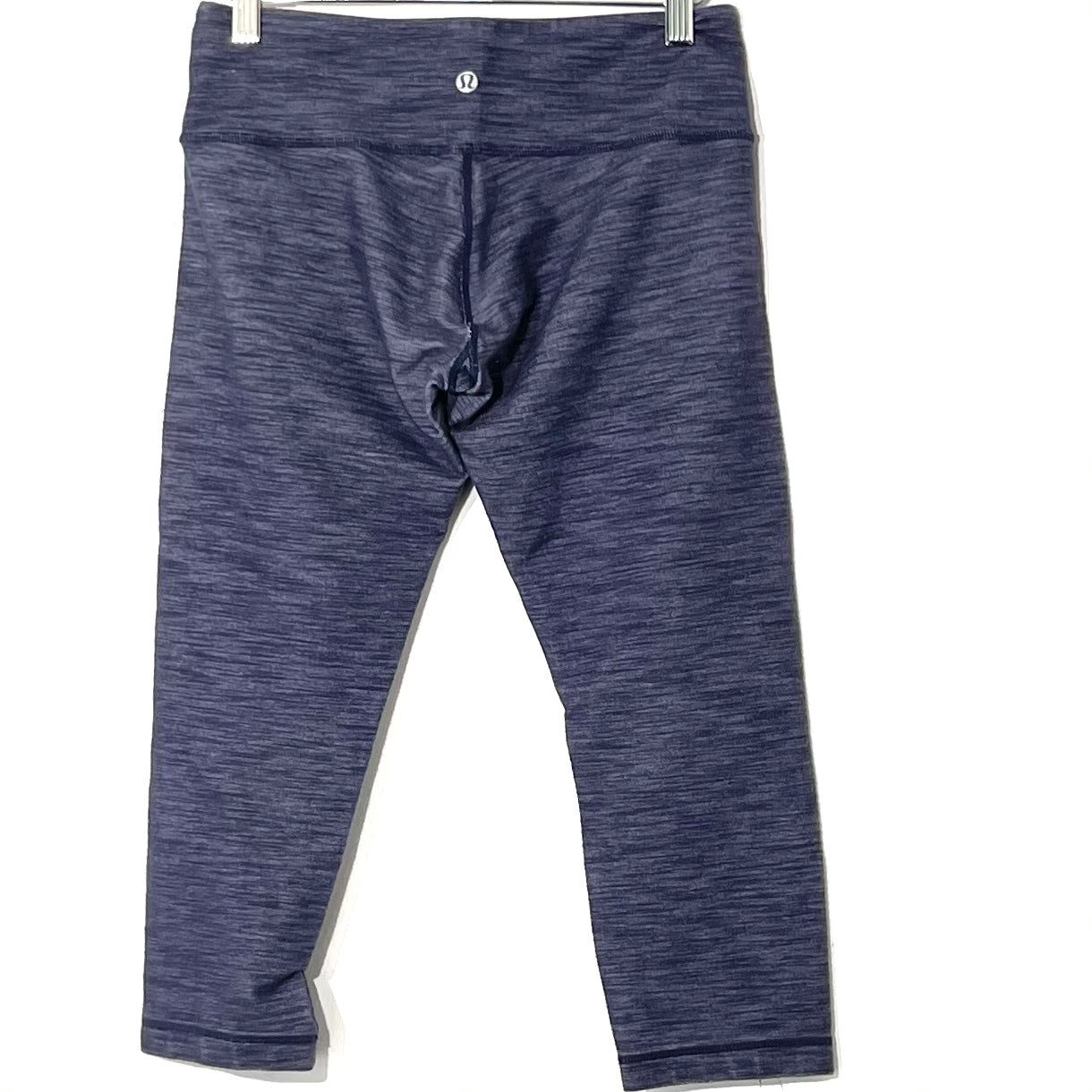 Photo #1 - BRAND: LULULEMON <BR>STYLE: ATHLETIC CAPRIS <BR>COLOR: BLUE<BR>SIZE: 6 <BR>SKU: 262-262101-2340<BR>GENTLEST FADE AND PILLING AS IS