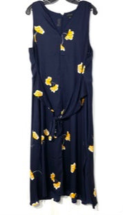 Primary Photo - BRAND: ANN TAYLOR STYLE: DRESS LONG SLEEVELESS COLOR: FLORAL SIZE: XXL /16SKU: 262-26275-67996PIT TO HEM 40""