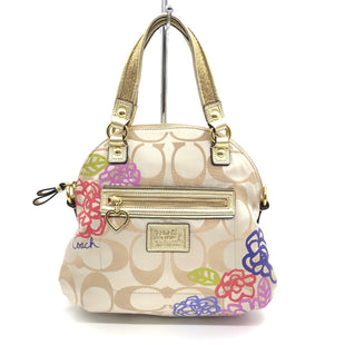 "Primary Photo - BRAND: COACH STYLE: HANDBAG DESIGNER COLOR: FLORAL SIZE: SMALL 11""H X 13""L X 4""WSKU: 262-26275-76649MISSING STRAP • OVERALL IN GREAT SHAPE AND CONDITION •"