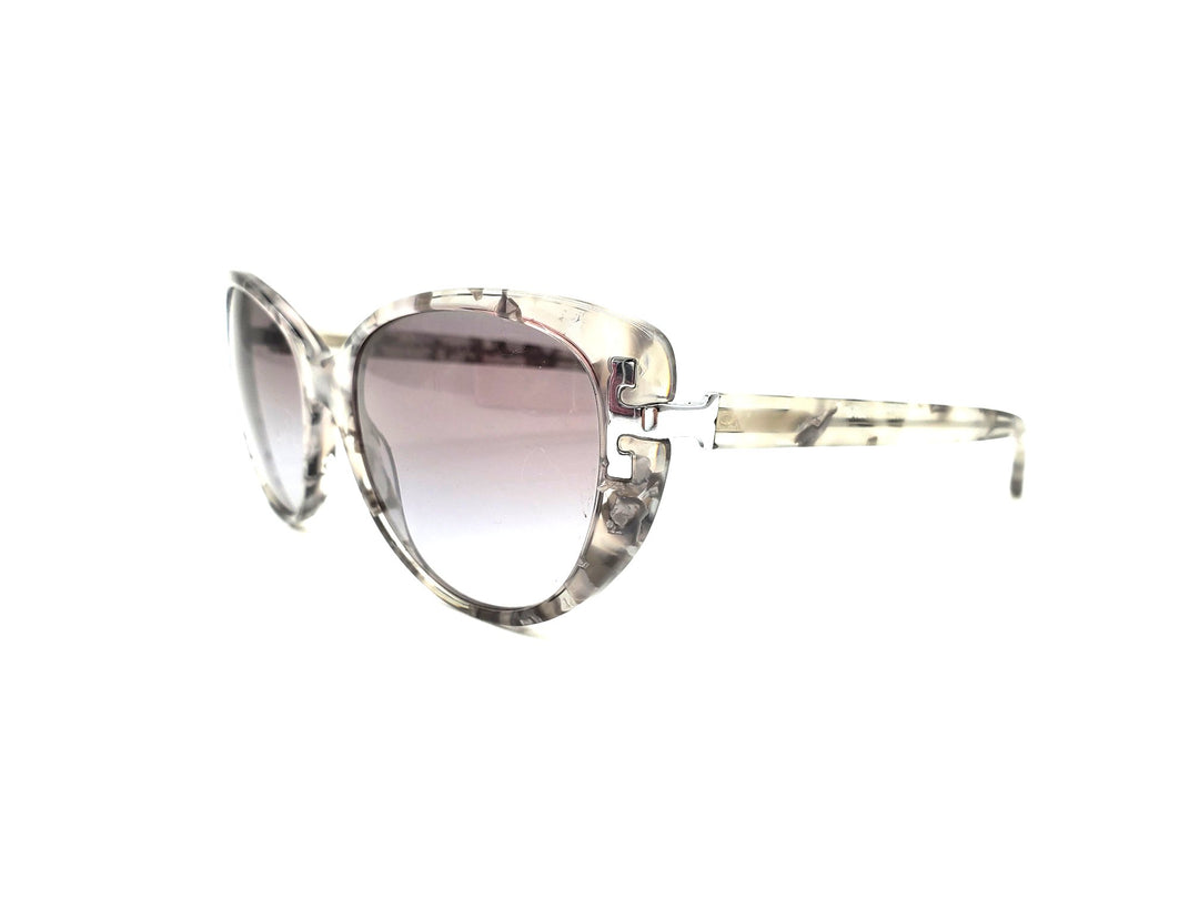 Photo #1 - BRAND: TORY BURCH <BR>STYLE: SUNGLASSES <BR>COLOR: GREY <BR>SKU: 262-26241-42170<BR>AS IS <BR>DESIGNER ITEM FINAL SALE