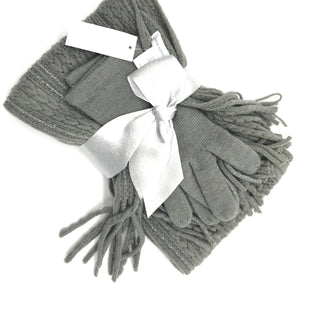 Primary Photo - BRAND: NEW YORK AND CO STYLE: SCARF AND GLOVES SETCOLOR: GREYSKU: 262-26275-68782NEW CONDITION
