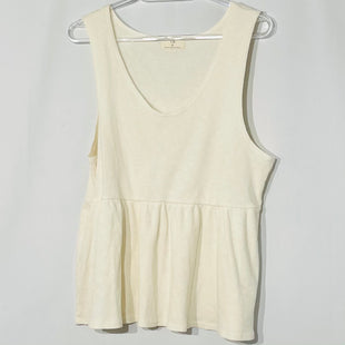 Primary Photo - BRAND:    T.LASTYLE: TOP SLEEVELESS COLOR: CREAM SIZE: XL OTHER INFO: T LA - SKU: 262-26275-76863