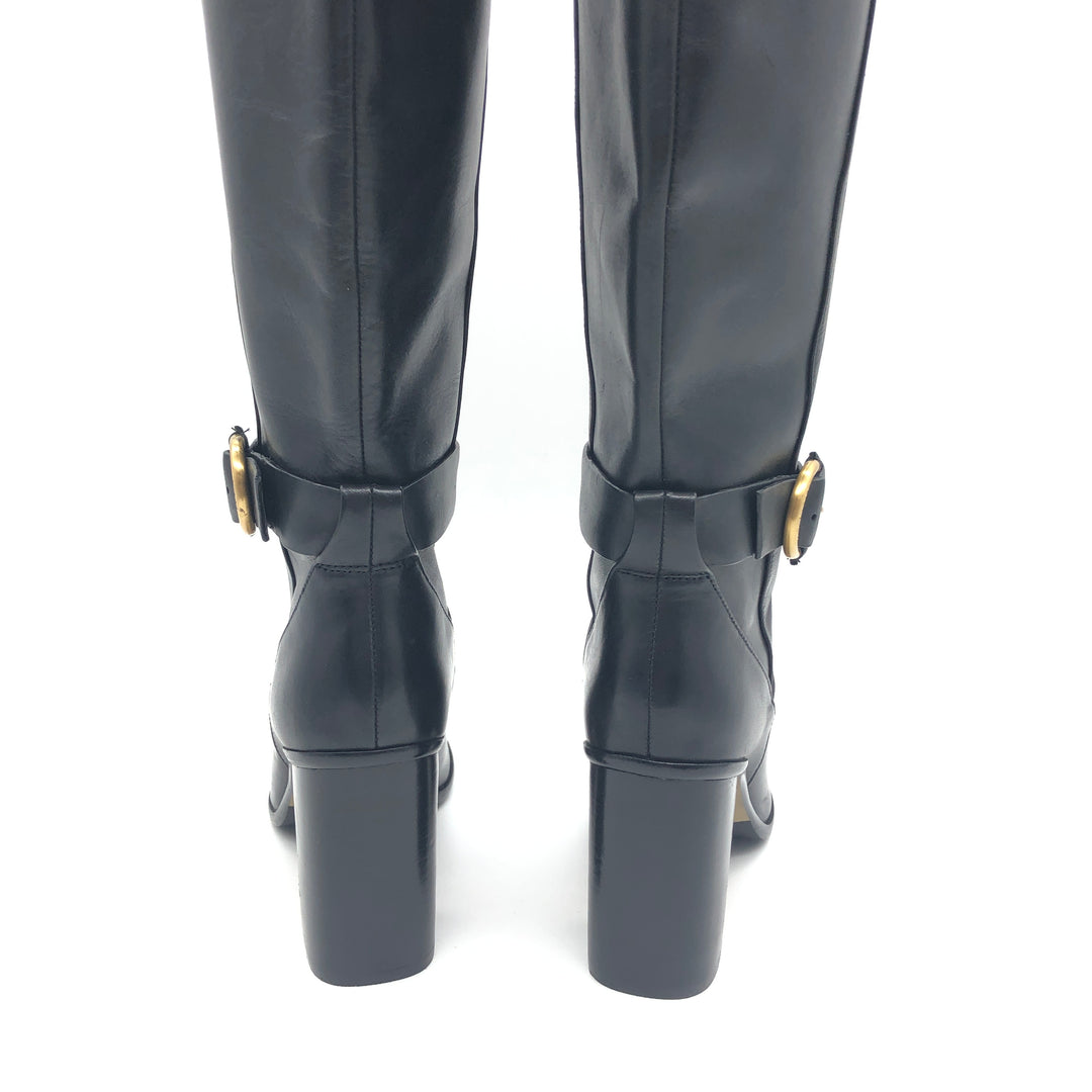 Photo #4 - BRAND: TED BAKER <BR>STYLE: BOOTS KNEE <BR>COLOR: BLACK <BR>SIZE: 8.5 | 38.5<BR>SKU: 262-26275-75413<BR>IN GREAT SHAPE AND CONDITION