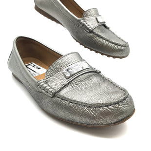 Primary Photo - BRAND: COACH STYLE: SHOES FLATS COLOR: METALLIC SIZE: 8.5 SKU: 262-26241-40507IN GOOD SHAPE AND CONDITION